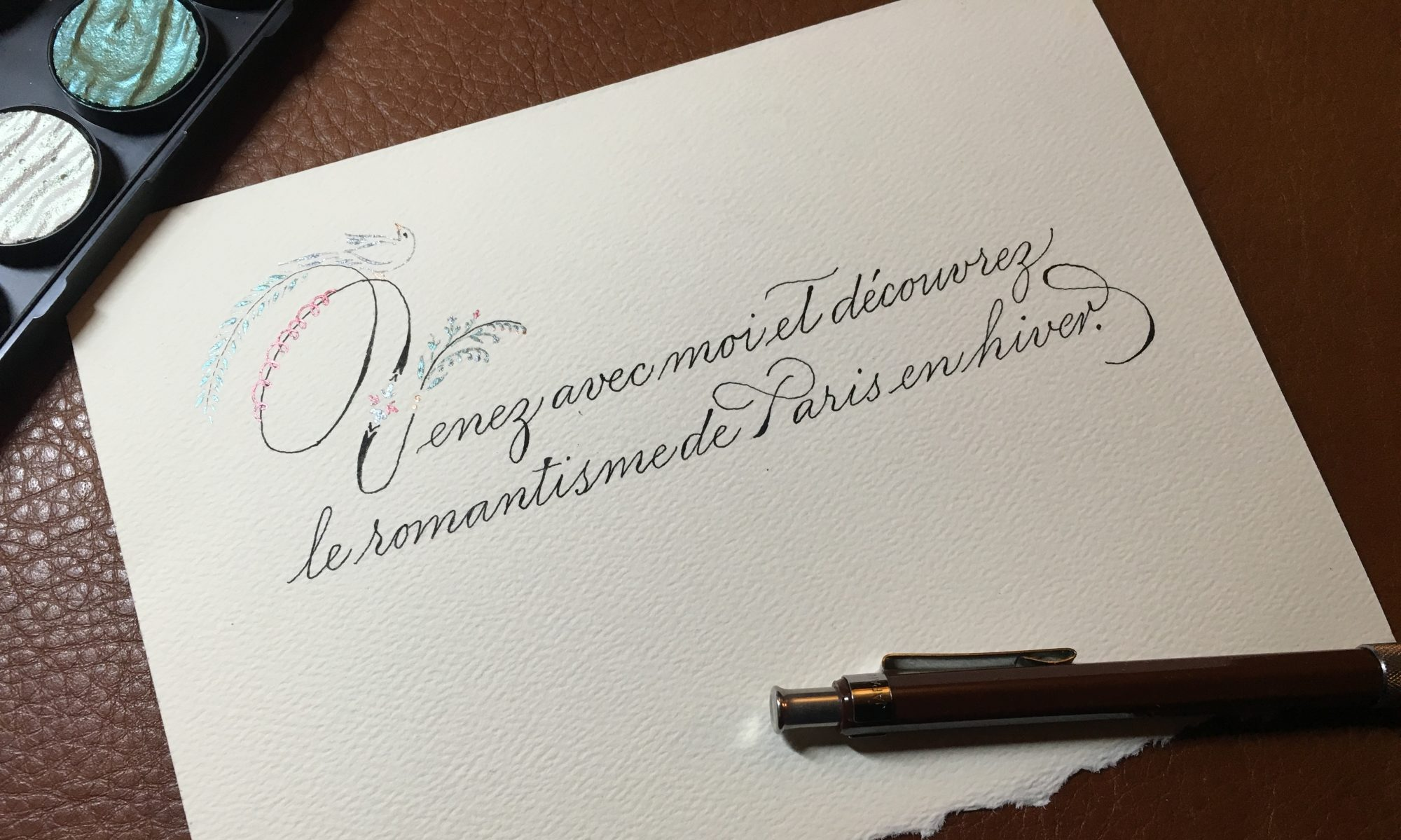 Haley Ping, Calligrapher & Artist